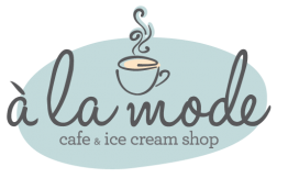 a la mode cafe + ice cream shop