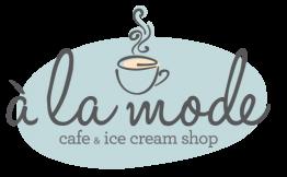 a la mode cafe + ice cream shop